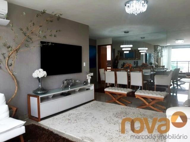 Apartamento à venda com 3 dormitórios em Setor bueno, Goiânia cod:NOV235797