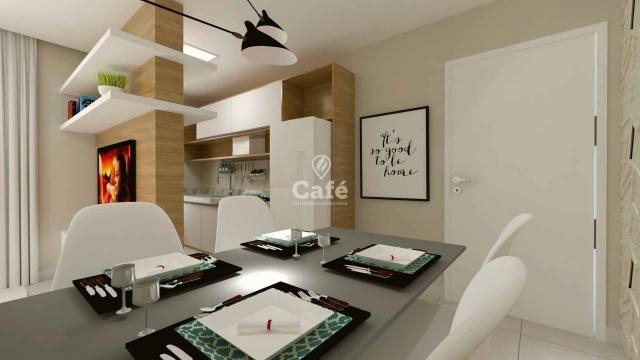 Apartamento de 2 dormitórios com garagem no Centro de Santa Maria - Foto 8