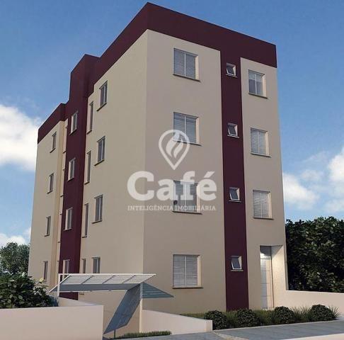 Apartamento à venda com 2 dormitórios em São joão, Santa maria cod:1345
