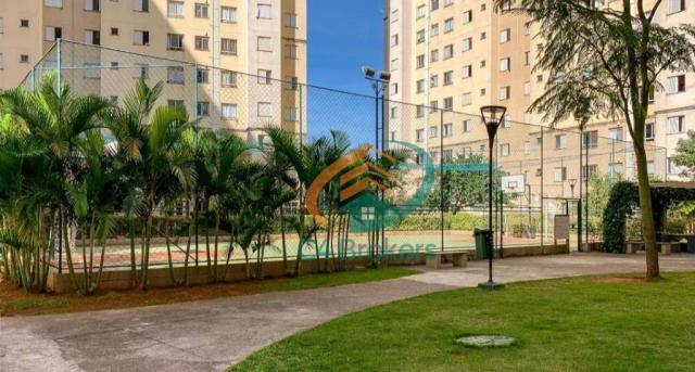 Apartamento com 2 dormitórios para alugar, 45 m² por R$ 1.547,00/mês - Ponte Grande - Guar - Foto 18