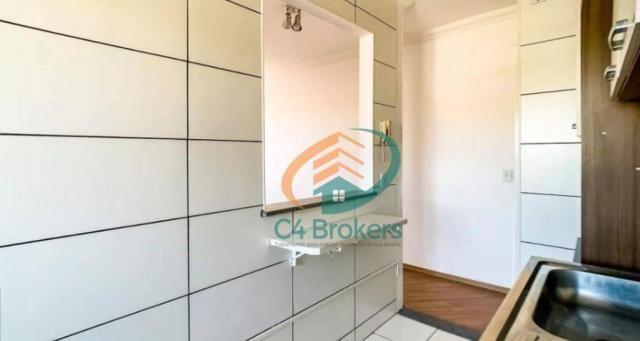 Apartamento com 2 dormitórios para alugar, 45 m² por R$ 1.547,00/mês - Ponte Grande - Guar - Foto 6