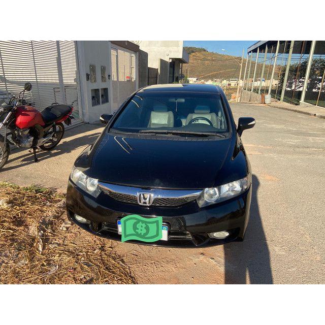 Honda civic flex 2011 automático - Foto 2