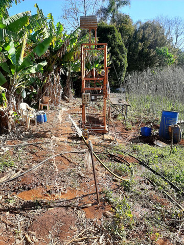 Perfuração de poço semi artesiano - Foto 2