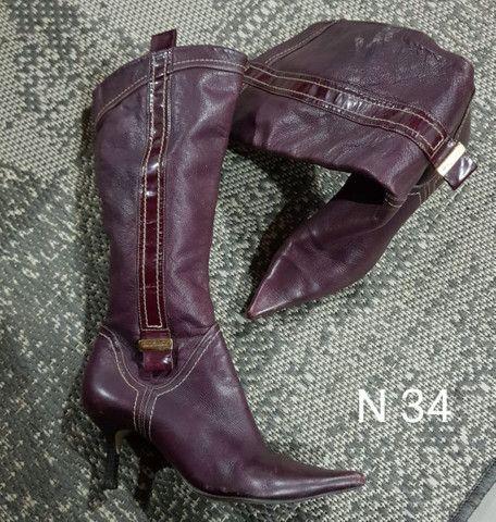 Sapatos e Botas femininos scarpin - Foto 6