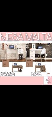 Mesa Malta 4 gavetas