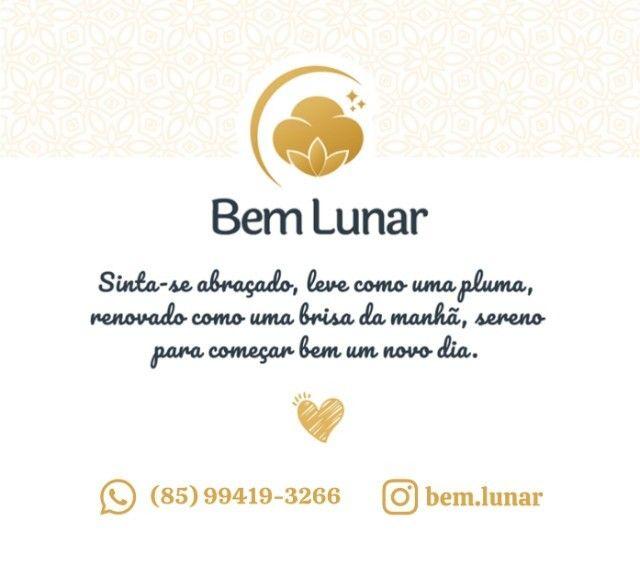 Jogo de Cama 300 FIOS, Branco, Lençol 100% Algodão, 4 pçs - Bem Lunar - Foto 4