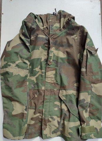Jaqueta militar americana Goretex 100% impermeável!