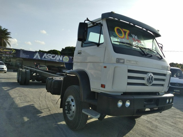 VW 13180 Worker  6x2 2007 no Chassi
