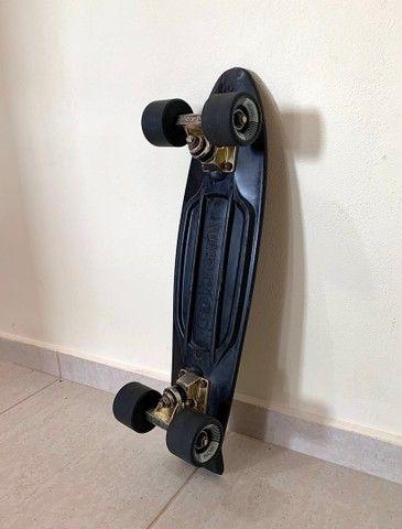 Skate cruiser Kronik Black Gold - usado - Foto 4