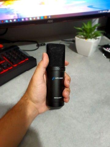 Microfone Arcano Black AM-Black-1 - Foto 4