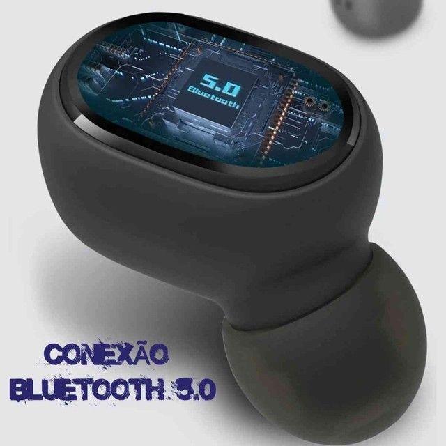 Fone Ouvido Digital True Esporte Bluetooth 5.0 E6s Tws - Foto 5