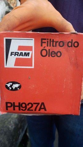 Filtro de óleo PH927A.  FRAM