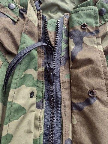 Jaqueta militar Goretex 100% impermeável - Foto 3