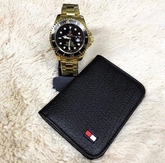 Kit relógio e carteira disponível  - Foto 4