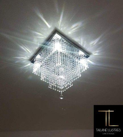 Lustre de Cristal Acrilico - Foto 3