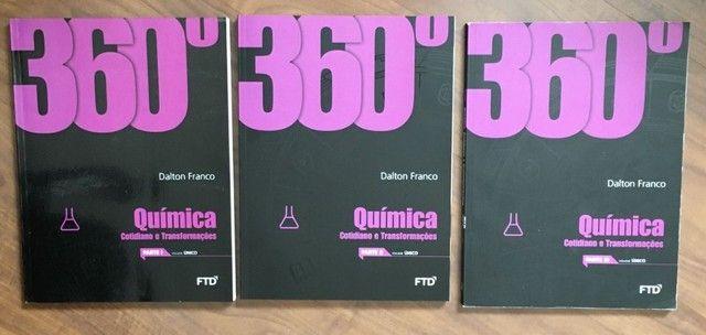 Box 360 Quimica F T D  Dalton Franco, com 6 volumes, usado, - Foto 2