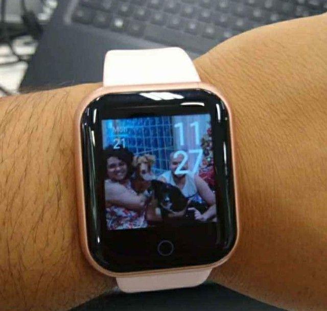 Smartwatch Y68 - Edição especial (COLOCA FOTO)