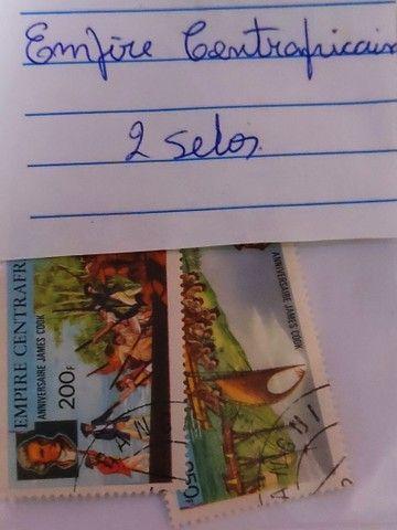 Coleção de selos antigos - Foto 6