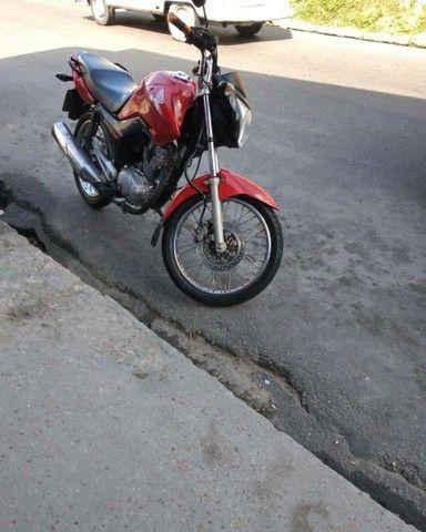 Vendo essa moto CG 150 7.800 semc choro  - Foto 2