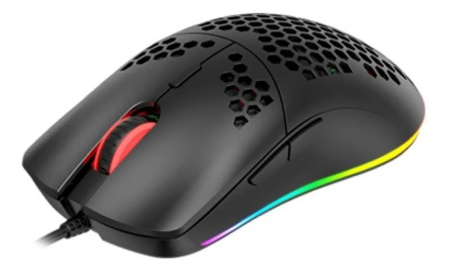 Mouse Gamer Havit Ms1023 6400dpi Rgb - Loja Natan Abreu  - Foto 5