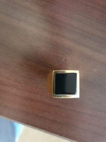 Anel ouro 18k - Foto 3