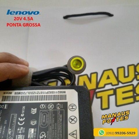 Fonte Notebook Lenovo 20V 4.5A ThinkPad Ponta Grossa Novo c/ Garantia - Foto 3