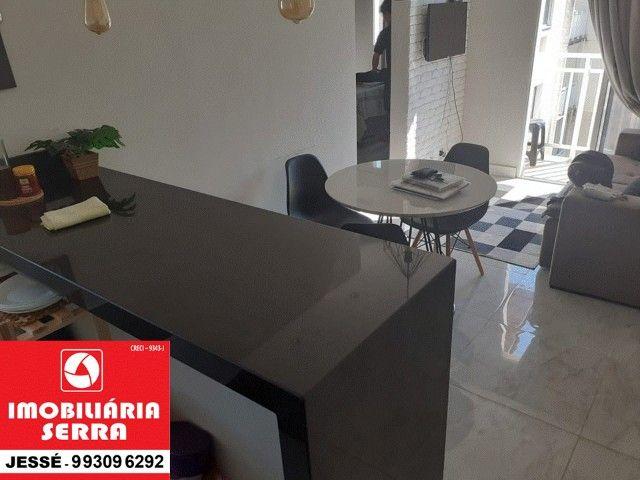 JES 004. Vendo apartamento mobiliado, 63M², 3 quartos. na Serra   - Foto 5