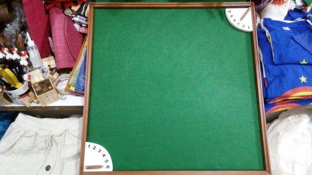 Tabuleiro + relógio para dominó  - Foto 6
