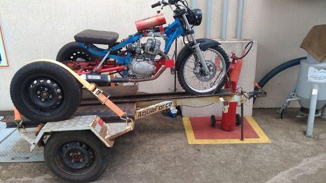 Vendo triciclo e carretinha - Foto 2