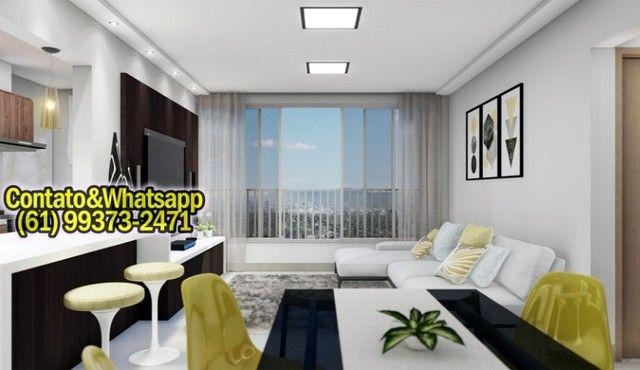 Apartamento em Goiânia, 2Q (1Suíte), 55m2, Garagem, Lazer Completo! Parcela. - Foto 2