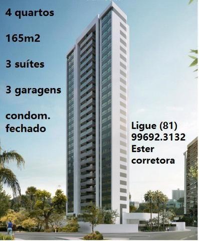 Edif Hilson Macedo lançamento 4 quartos 164 metros quadrados de 3 garagens