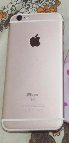 Vendo um iPhone 6s Rose