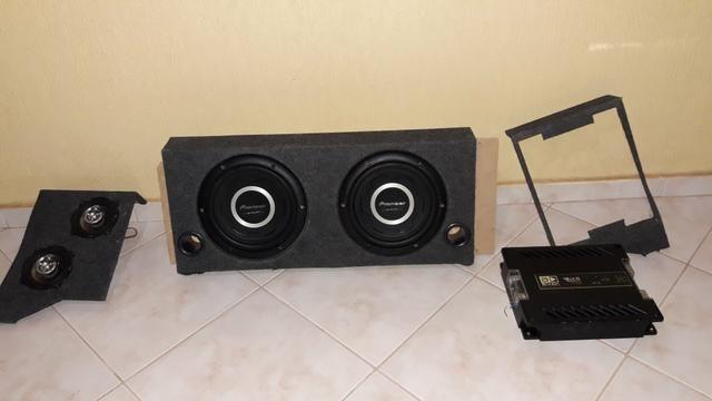 Caixa de som projetada mdf - Foto 4