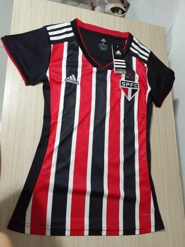 Camisa Do São Paulo feminina original - Foto 2