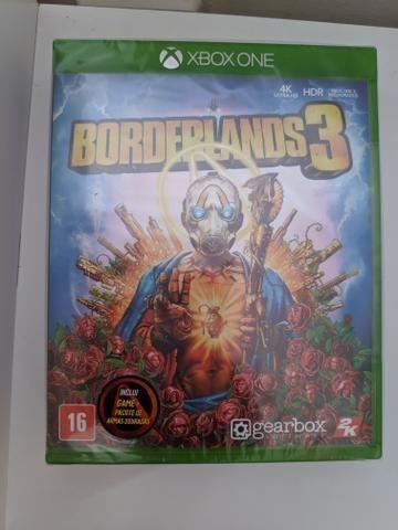Borderlands 3 - Xbox One - Lacrado. Aceito cartão