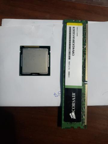Processador i3 + Memoria RAM
