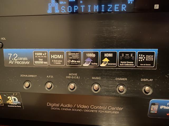 Receiver Sony 7.2 / 4 entradas HDMI