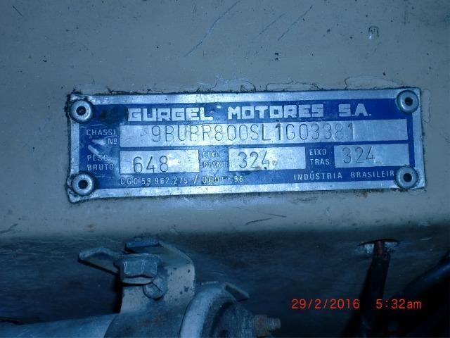 Gurgel BR 800 todo original, para colecionadores - Foto 10