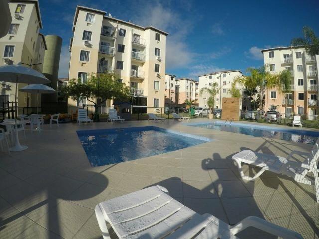 Apartamento em Manguinhos 02 Quartos, Praia da Baleia Condomínio Rossi Vila Itacaré