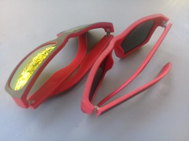 Óculos escuros vermelhos novos 20 reais cada - Foto 2
