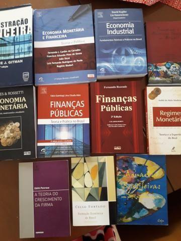 Livros Economia Administração Faculdade