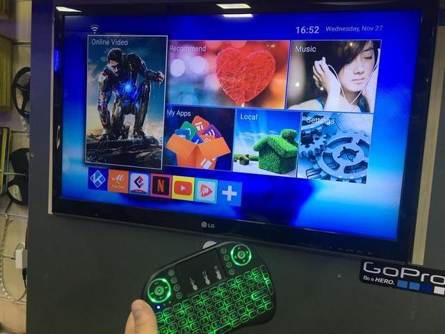 Tv box -transforme sua tv em smart - Foto 5
