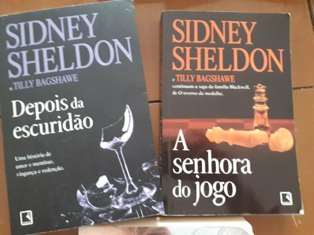 Livros Sidney Sheldon - Depois da Escuridão e A Senhora do Jogo - Foto 3