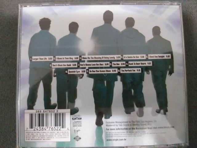 CD do Backstreet Boys - Foto 4