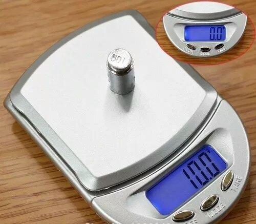 Mini Balança Digital De Precisão Modelo Diamond Series A04 - Foto 2