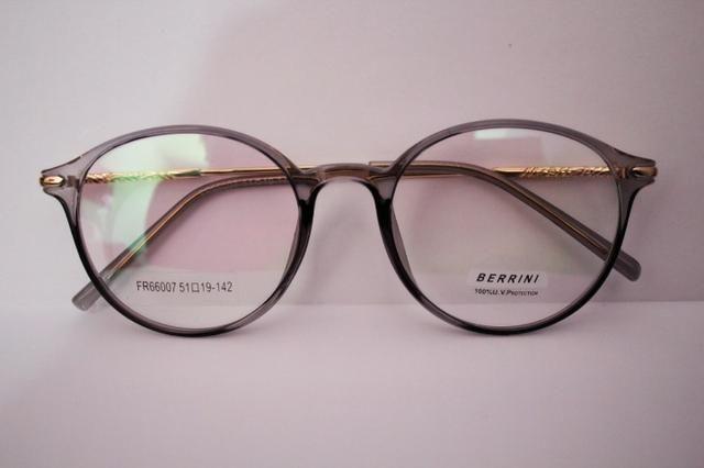 501d3b8ad99bd Armação para óculos de grau cinza claro Frete Grátis - Bijouterias ...