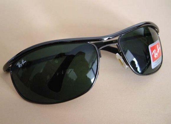 24d8cf5480d41 Óculos de Sol Ray Ban Demolidor RB8012 Preto Grafite Novo ...