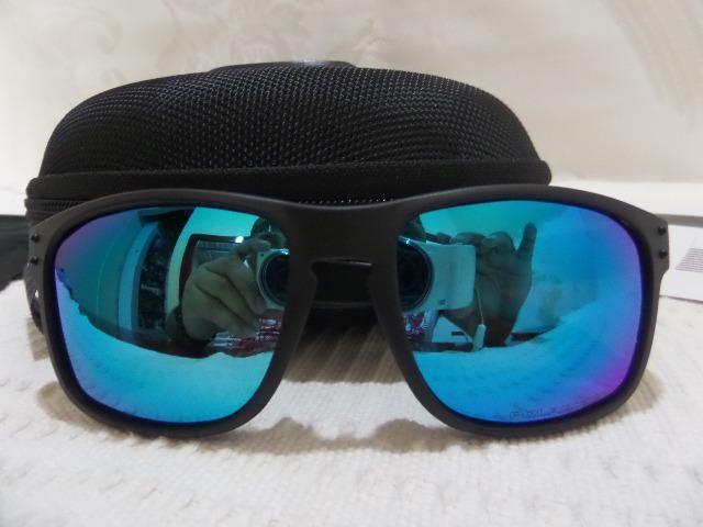 0b9c0b59d6491 Oculos Oakley Holbrook Moto Gp Esmeralda Polarizado Importado E