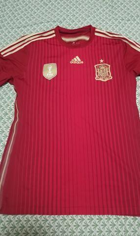 Camisa seleção Espanha 2014 - Roupas e calçados - Araranguá bba8d5cd0fc21