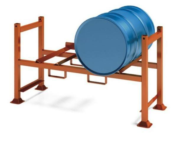 Rack para armazenamento de tambores 200l - Foto 3